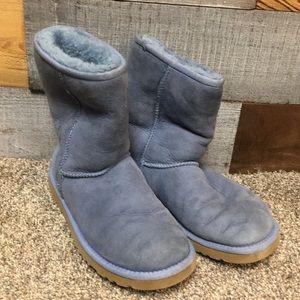 Blue UGG boots